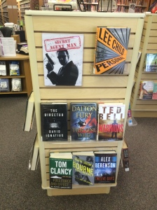 SRP display 7 - Secret Agent Man